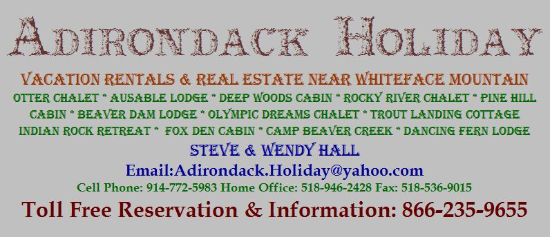 Adirondack Holiday Vacation Rentals