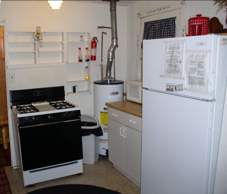 Kitchen Stove and Fridge