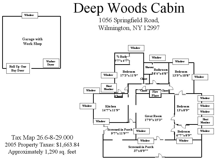 Deep Woods Floor Plan