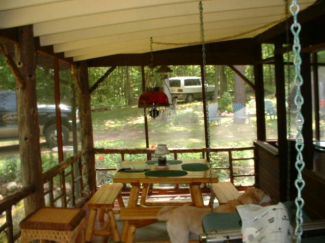 Deep Woods Porch