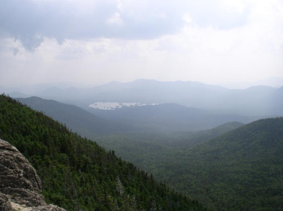 Elk Lake from Dix Hough trail