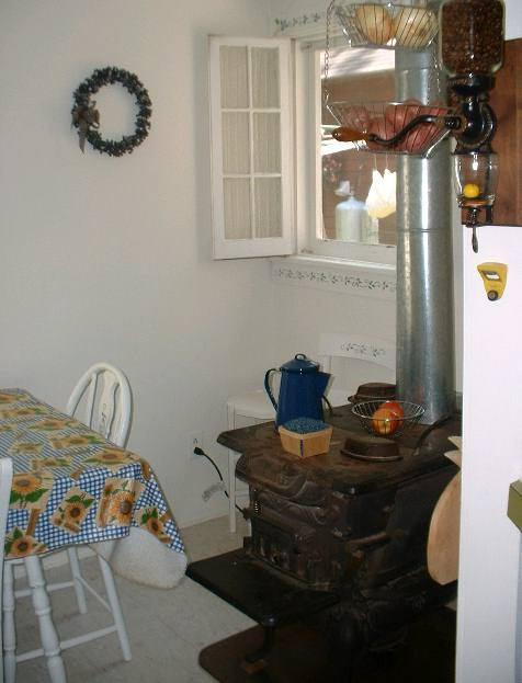 Kitchen Wood Stove