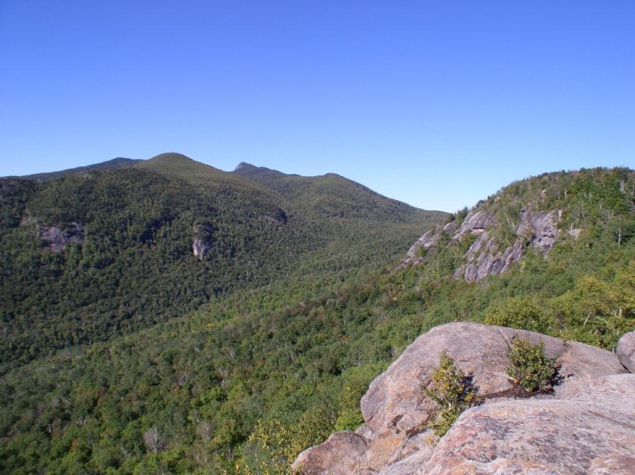 View west from Little Porter Mountain