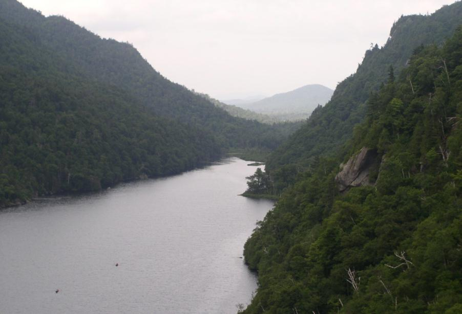 Lower Ausable Lake looking south